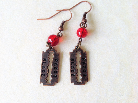 Sweeney Todd Inspired Earrings