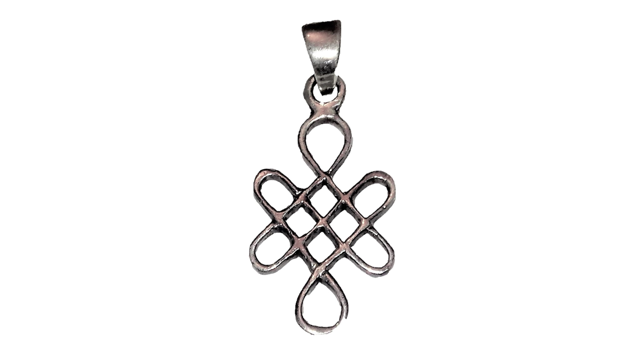 Celtic Knot Pendant - Sterling Silver