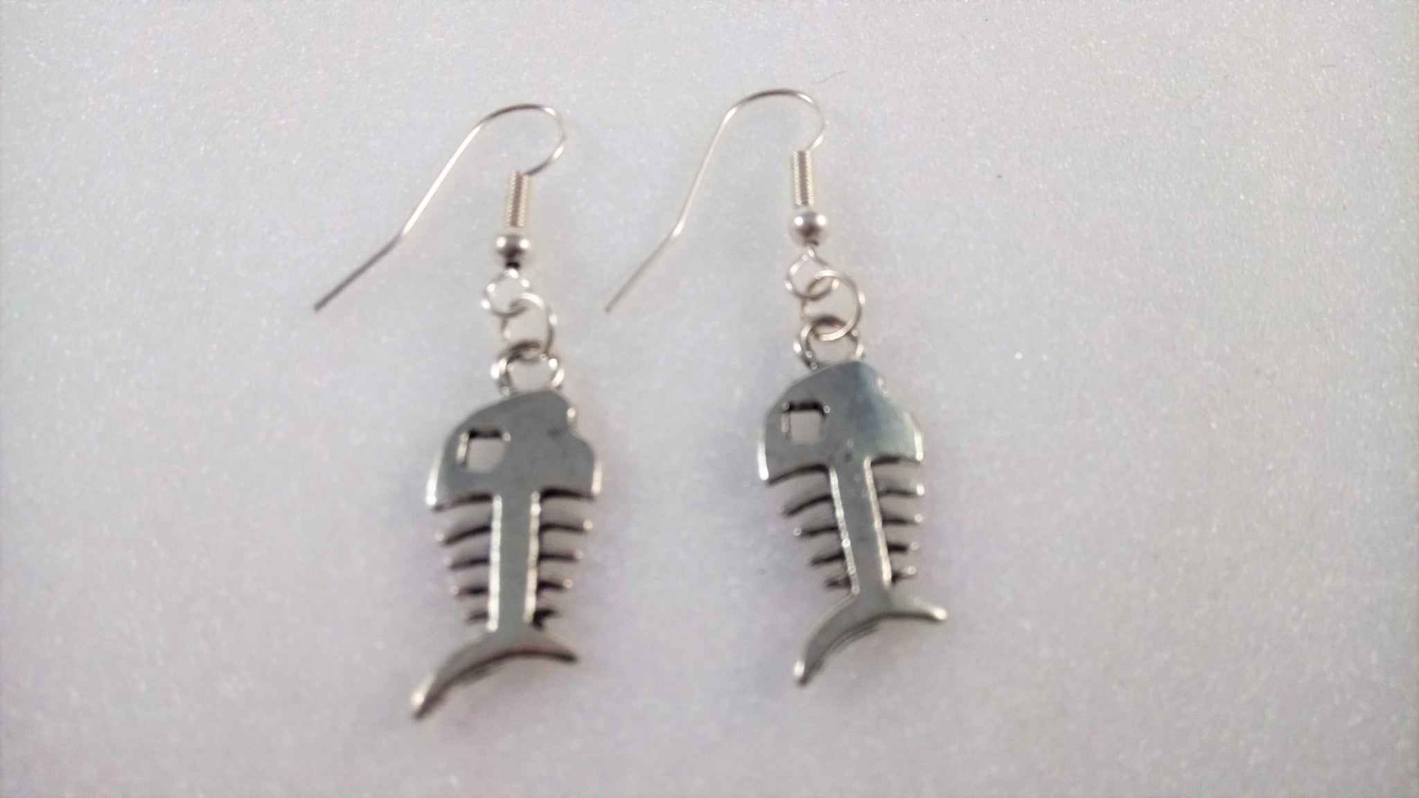 Fish Bone Earrings