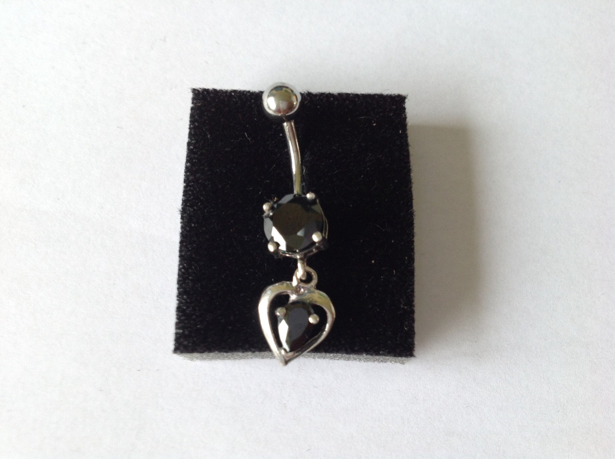 Belly Bar Sterling Silver