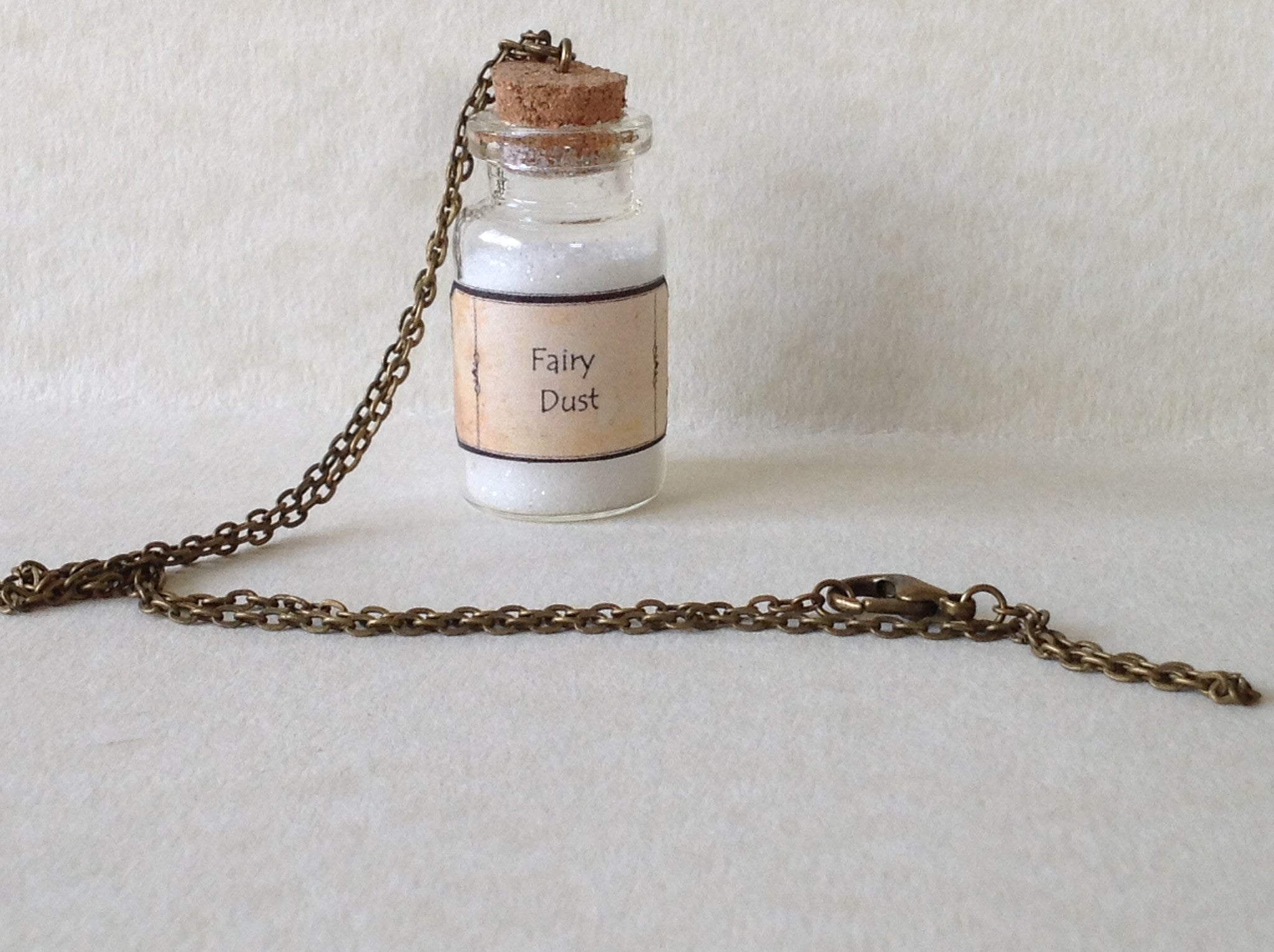 Fairy Dust Bottle Necklace