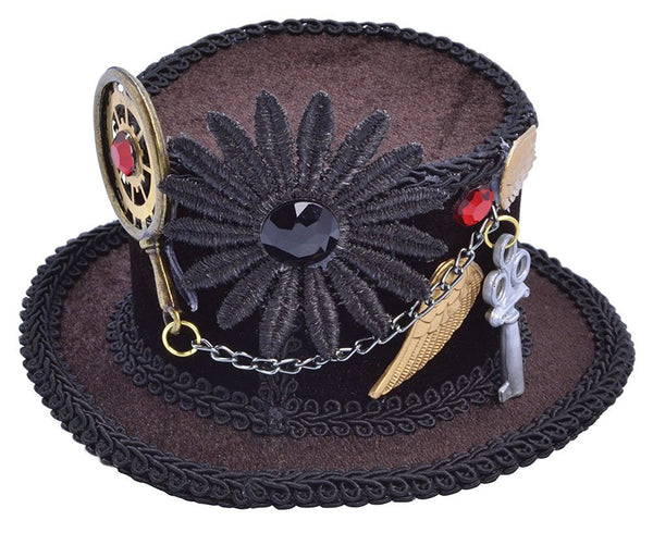 Ladies Clip-on Top Hat
