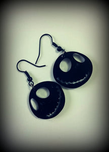 Nightmare Before Christmas Inspired Earrings - Jack