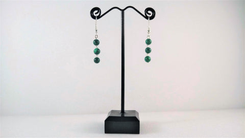 Malachite Gemstone Earrings