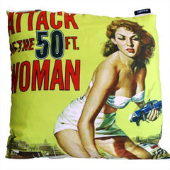 Cushion - Attack of the 50ft Woman Gothic Cinema