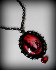 Rocky Horror Inspired Cameo Necklace