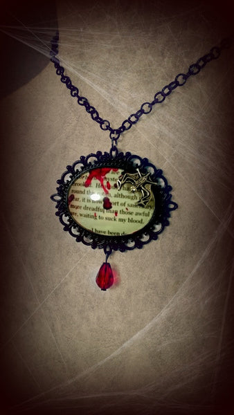 Letter from Transylvania Cameo Necklace