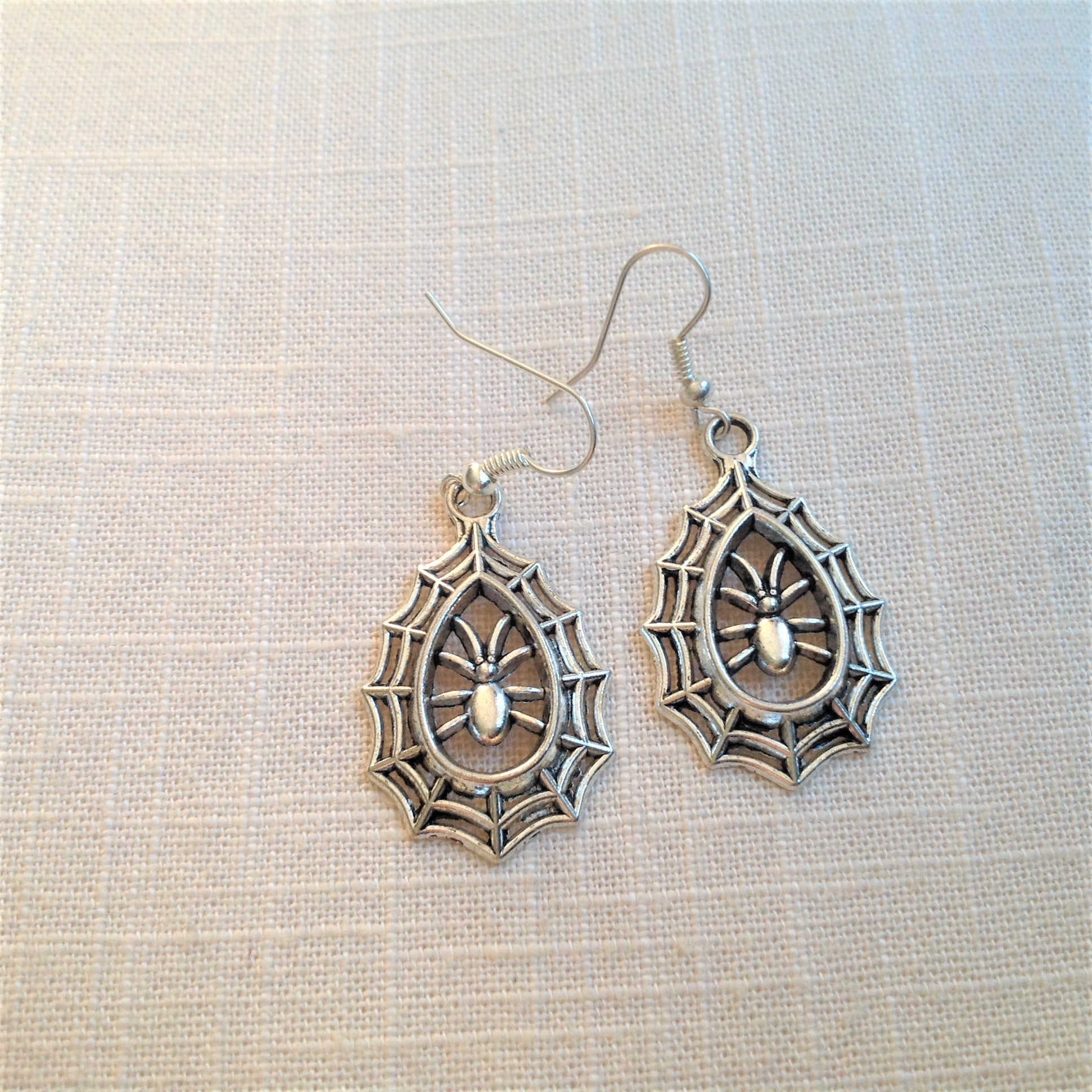 Earrings - Spiders Web