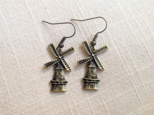 Earrings - Windmill