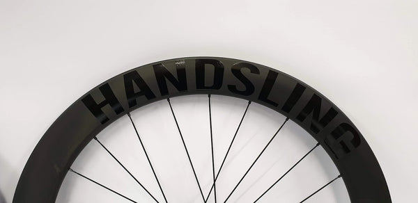 Handsling Tubeless Ready carbon wheels