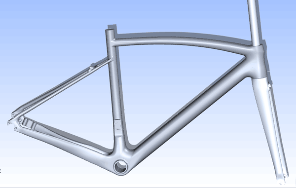 Initial CAD 3D for RR1evo