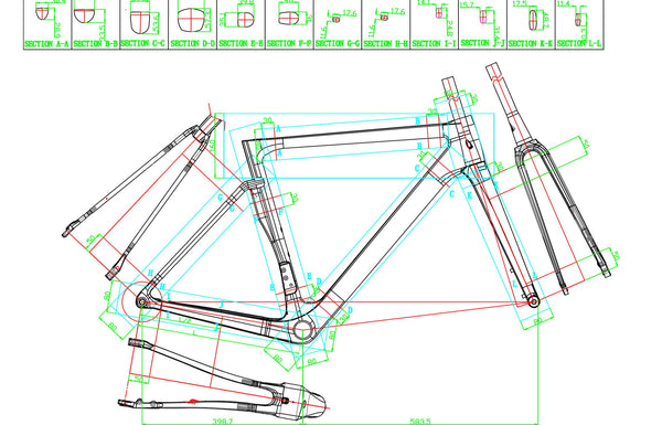 Handsling A1R0evo technical drawing