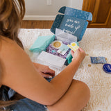 Girl Opening Subscription Box