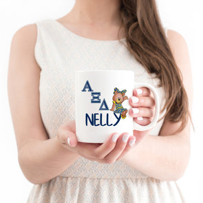 Alpha Xi Delta Sorority Mug