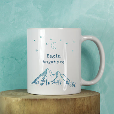 Begin Anywhere Mug
