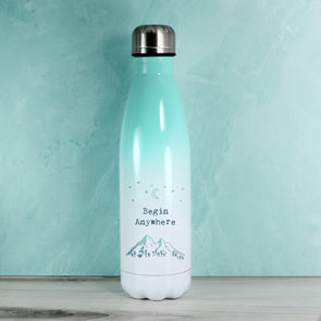 Begin Anywhere - Ombre Teal
