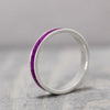Silver Sugilite Inlay Ring