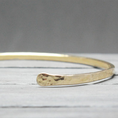 Hammered Gold Fill Cuff