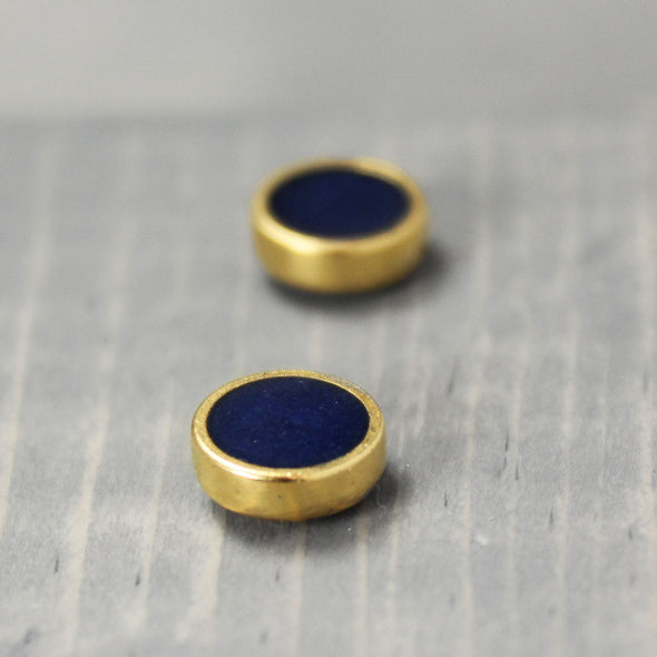 Lapis Lazuli Earrings - Pure Impressions Design - 4
