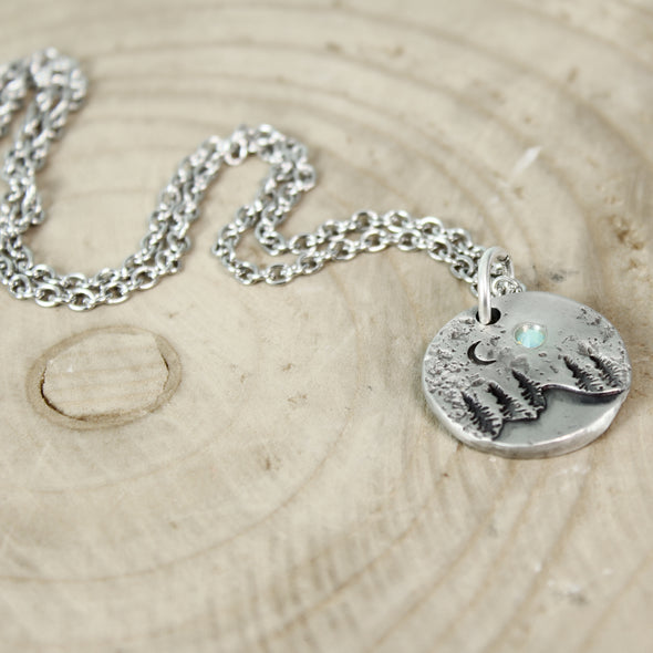 Moonlight Mountain Necklace