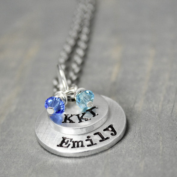 Kappa Kappa Gamma Stacked Necklace - Pure Impressions Design - 3