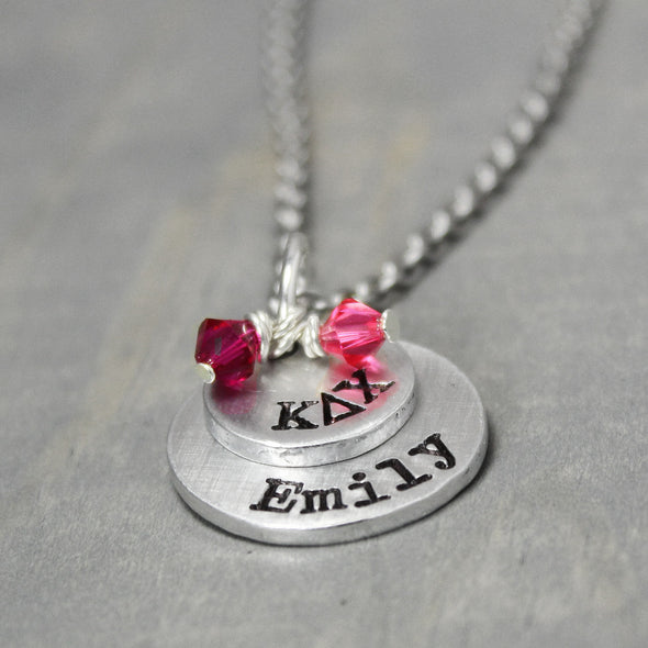 Kappa Delta Chi Stacked Necklace - Pure Impressions Design - 2