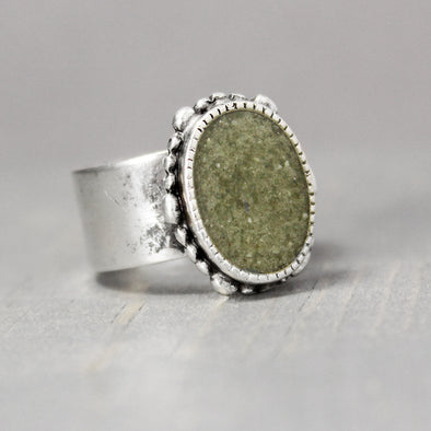 Ornate New Jade Ring