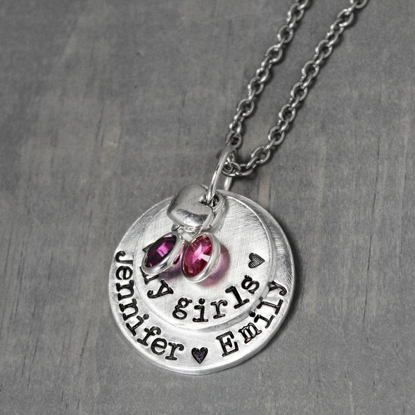 My Girls Mother Necklace