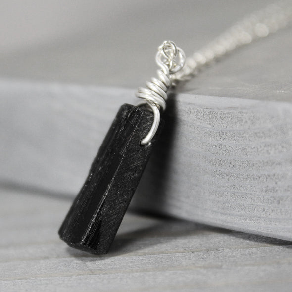 Pure Impressions Design Metaphysical Jewelry - Black Tourmaline Necklace