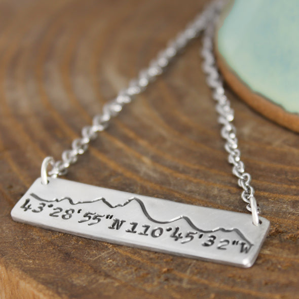 Tetons Coordinate Necklace