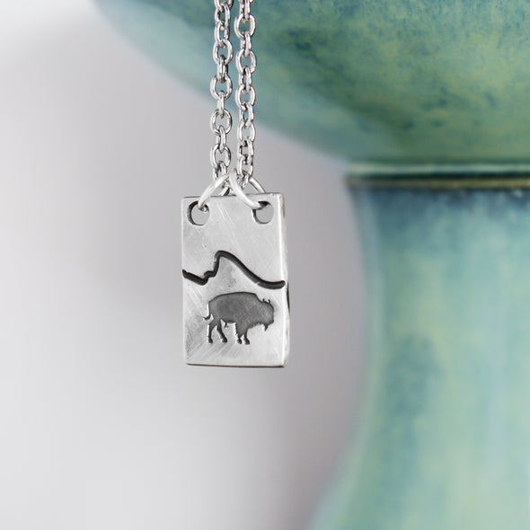 Buffalo Mountain Necklace
