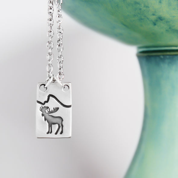 Moose Mountain Necklace
