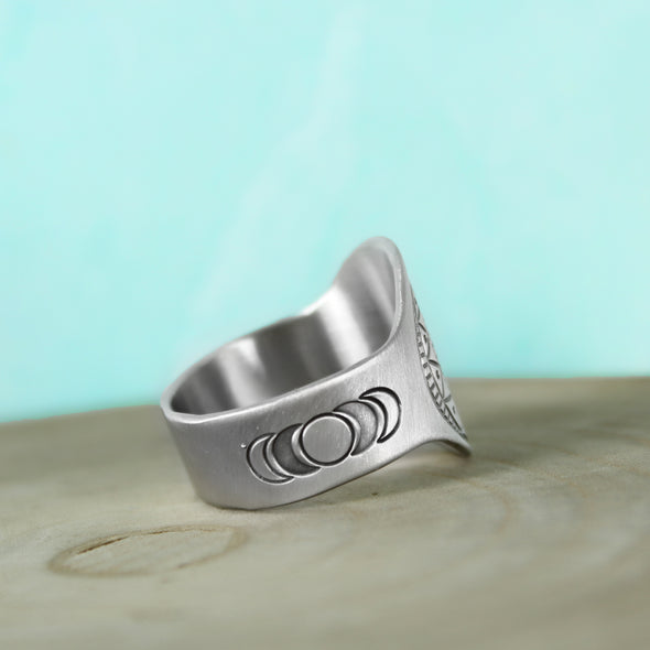 Stay Wild Moon Child Ring