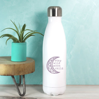 Moon Child Water Bottle - Purple