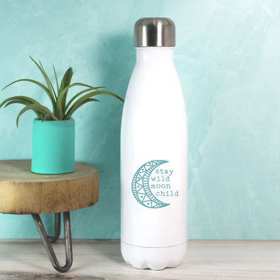 Moon Child Water Bottle - Teal