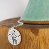 Sterling Silver Moose Mountain Necklace