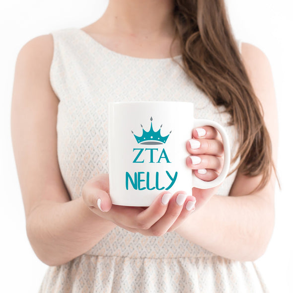 Zeta Tau Alpha Sorority Mug