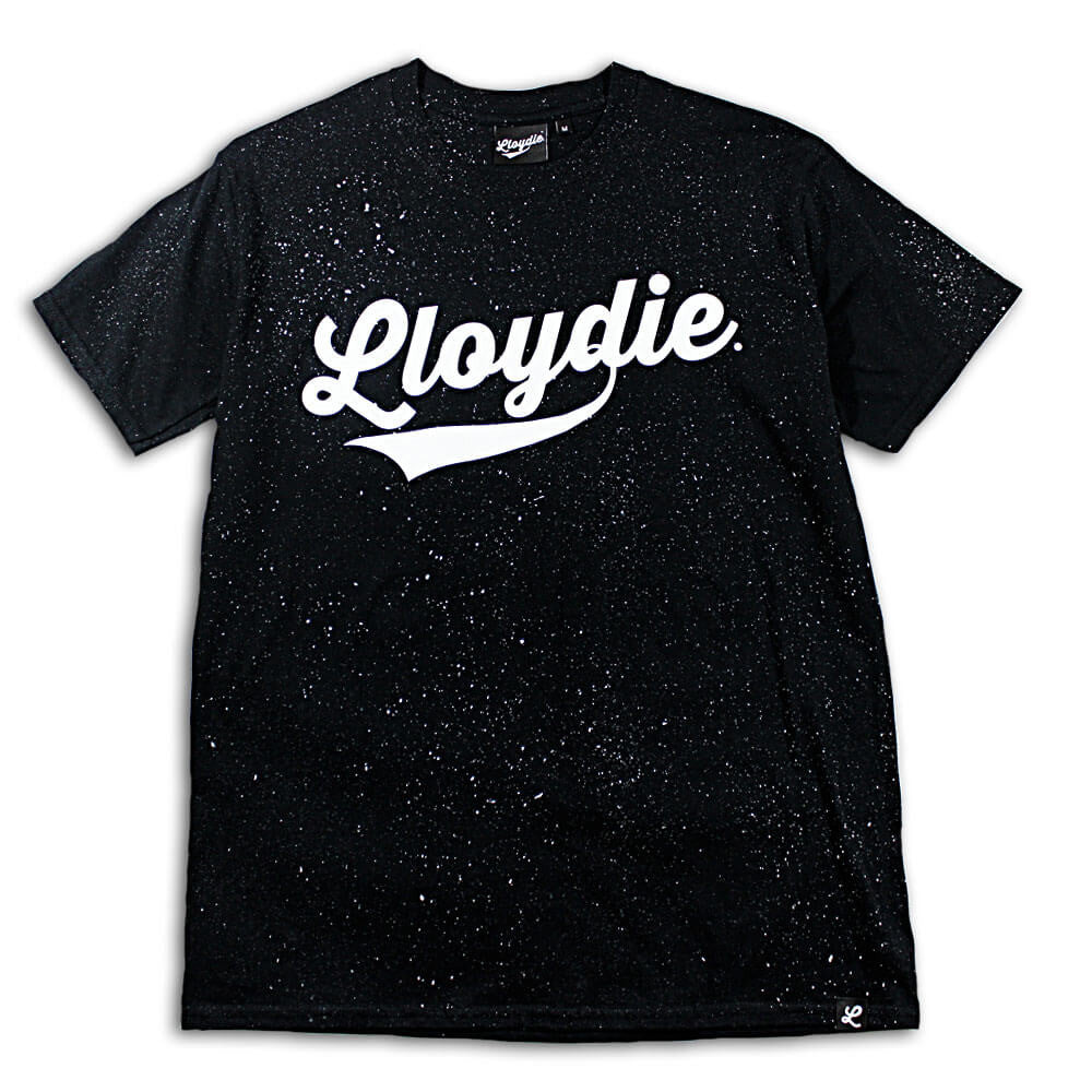 black speckled tshirt