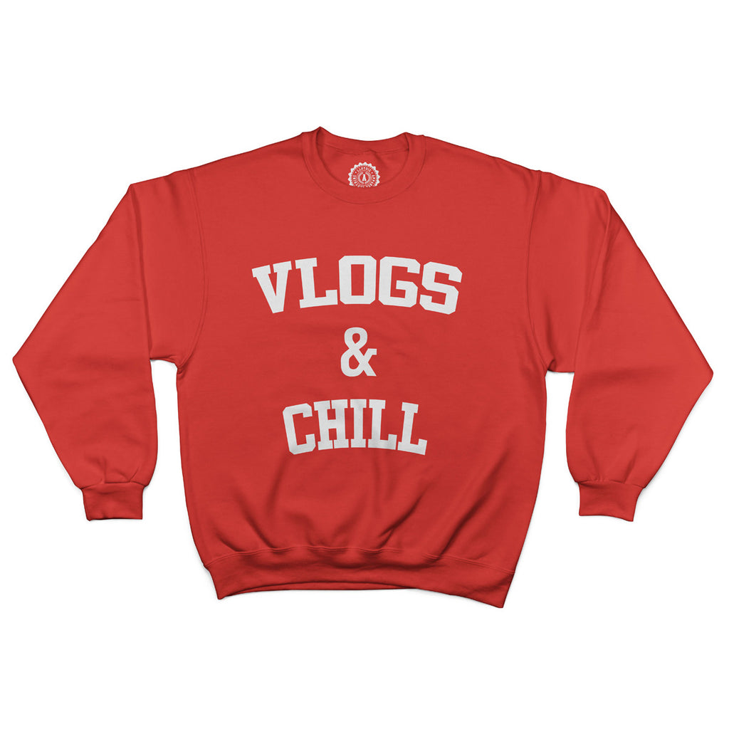 Unisex Vlogs & Chill Sweatshirt