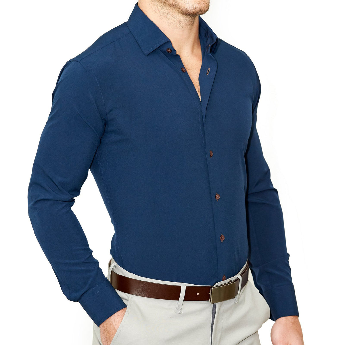 341c3ef26bf1 Athletic Fit Dress Shirts - State and Liberty Clothing Company