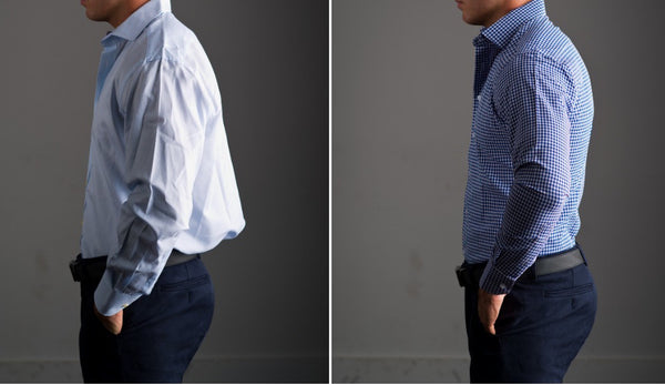 Athletic Fit Vs Slim Fit Dress Shirts What 39 S The