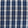 """The Kennedy"" Blue and White Plaid"
