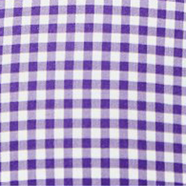 """The Glendening"" Royal Purple Gingham"