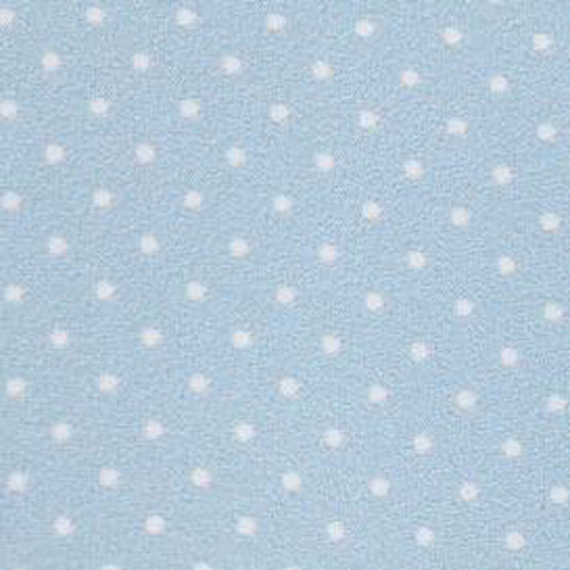 """The Graham"" Light Blue with White Dots"