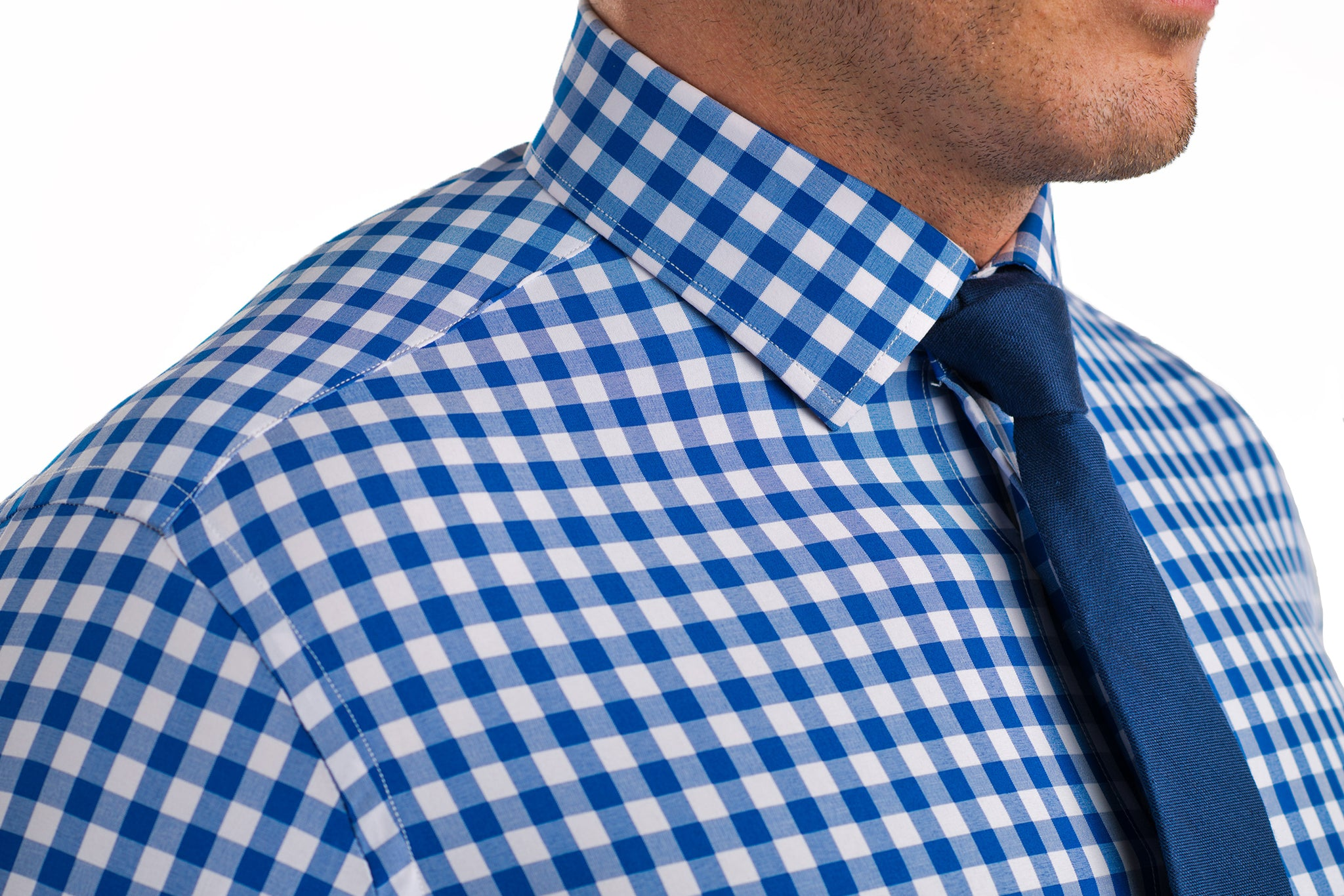 b1540ef48a2f1f Light Blue Plaid Shirt With Tie – EDGE Engineering and Consulting ...