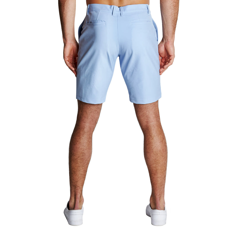 Athletic Fit Shorts - Light Blue
