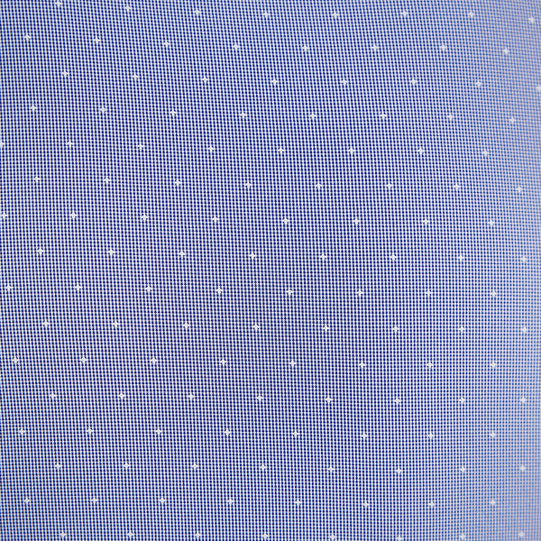 """The Lambert"" Blue with White Dots"