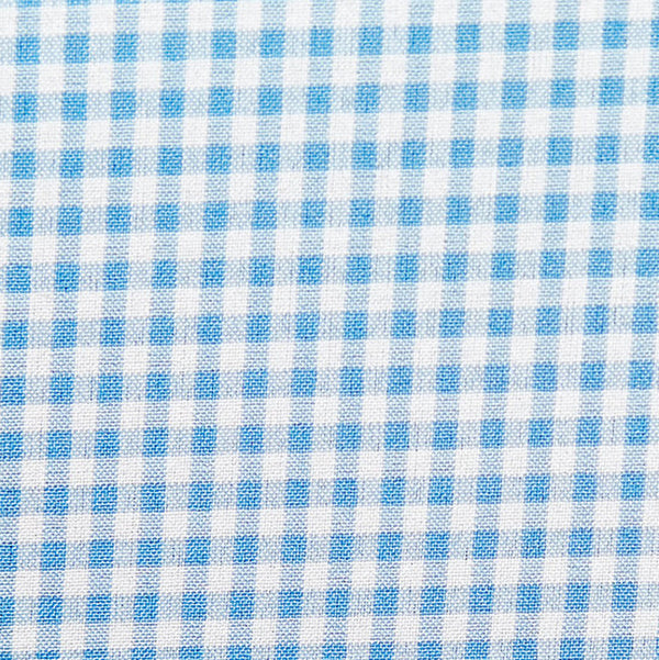 """The Lewan"" Light Blue Middle Check"