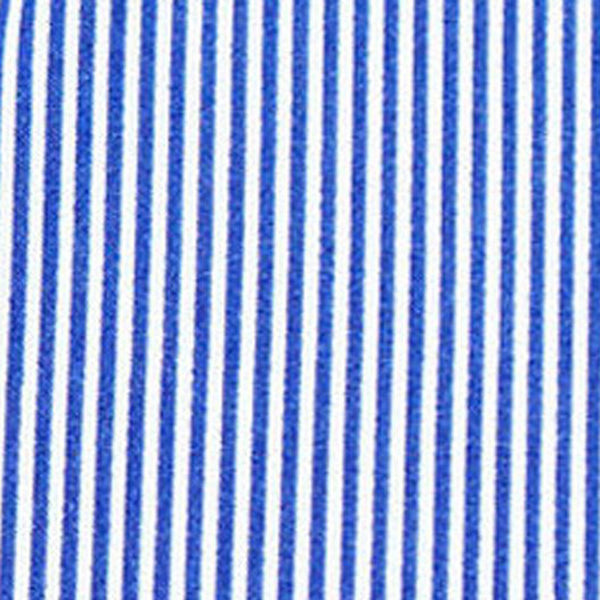 """The Marshall"" Blue Pinstripe"