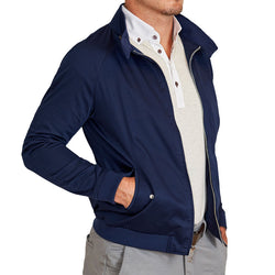 The Navy Bomber Jacket
